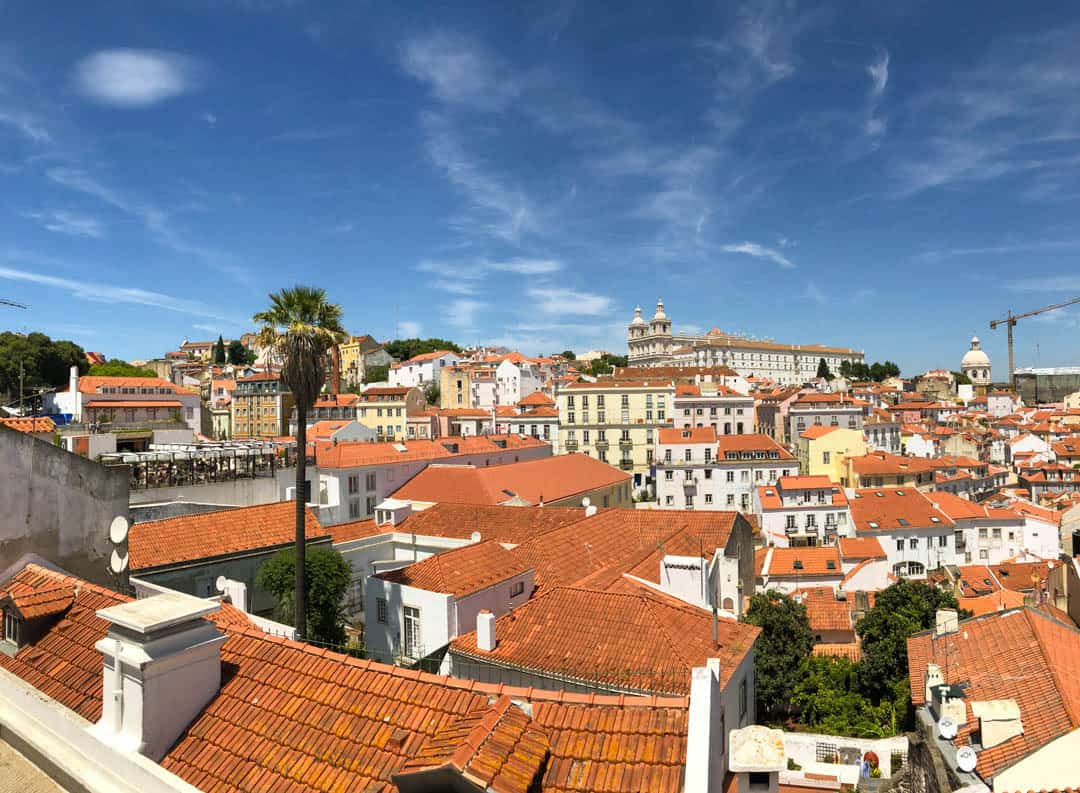 city views Lisbon