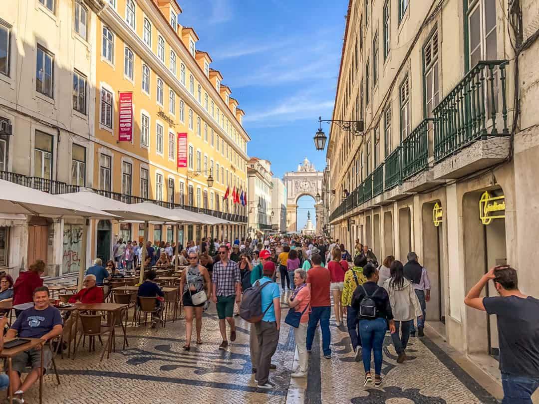 main pedestrian street