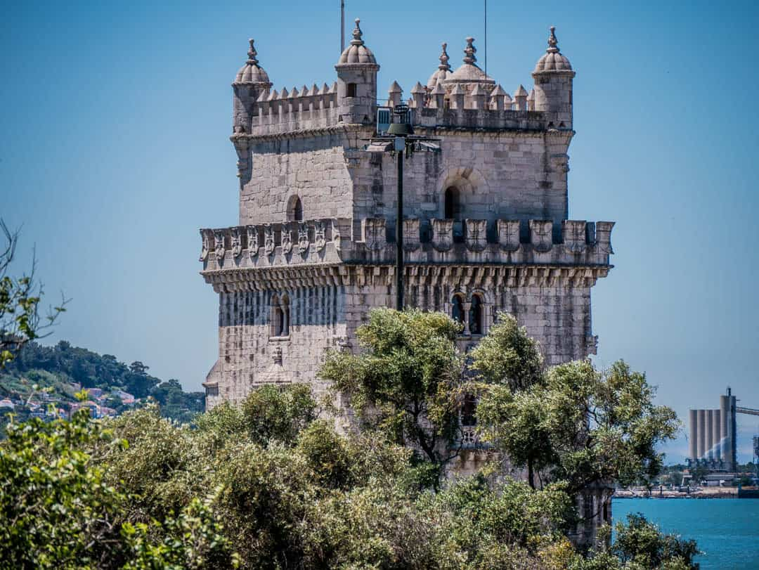 tower in belem