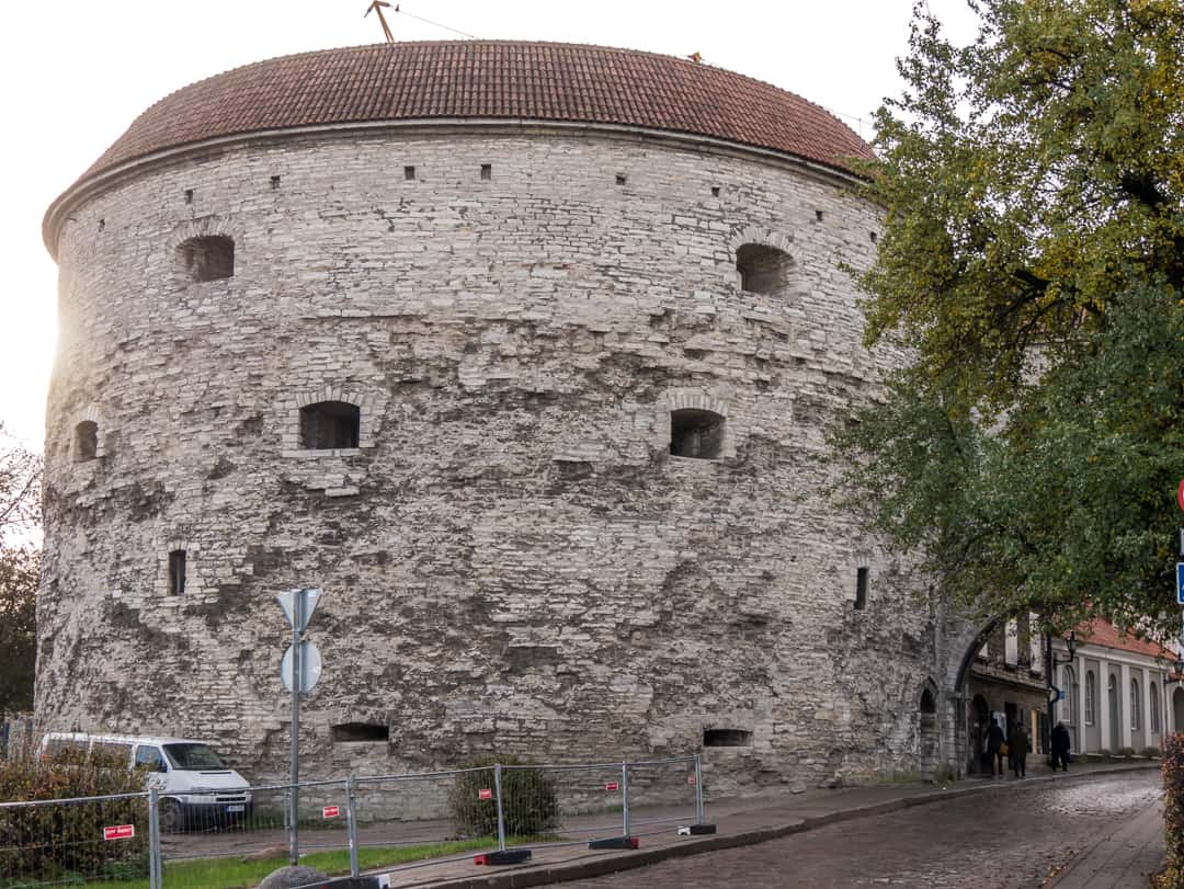 FAt MArgaret tower in Estonia