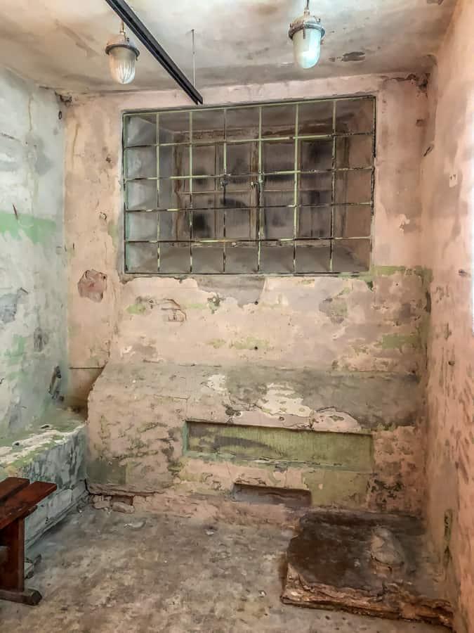 KGB prison cell