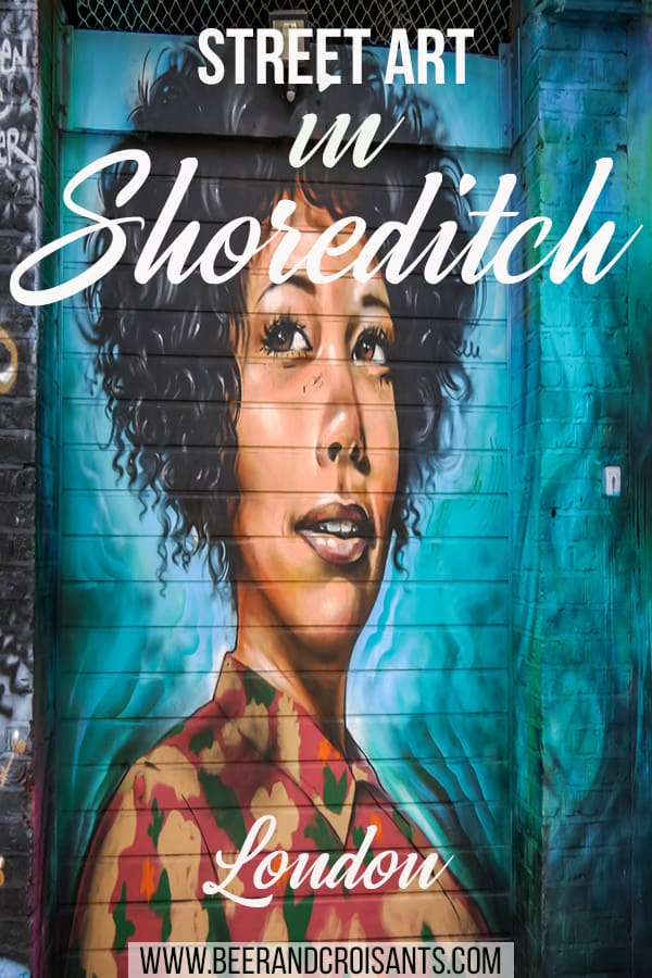 Shoreditch is full of amazing streete art. Do your own walking tour to see it all.