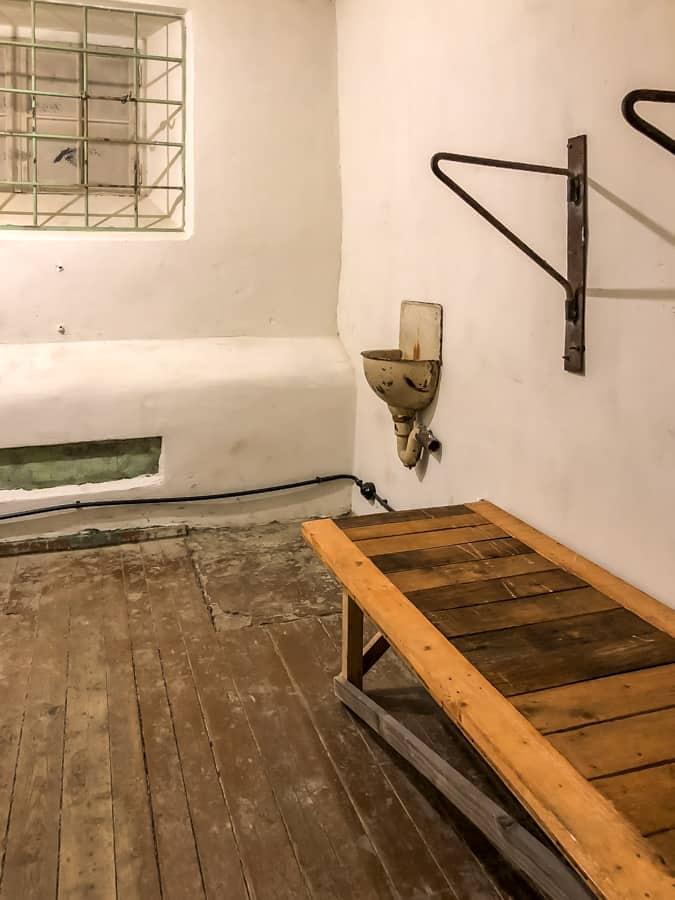 cell in KGB prison