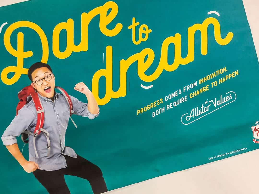 dare to dream airasia