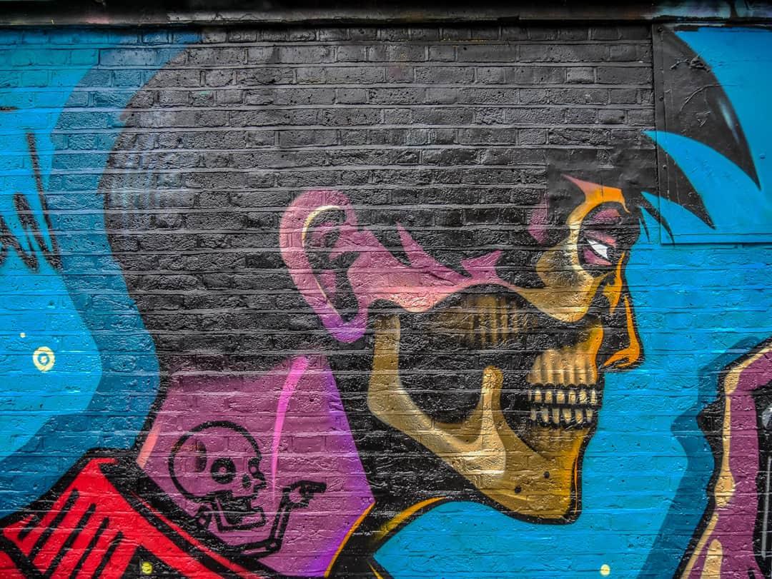 man streetart