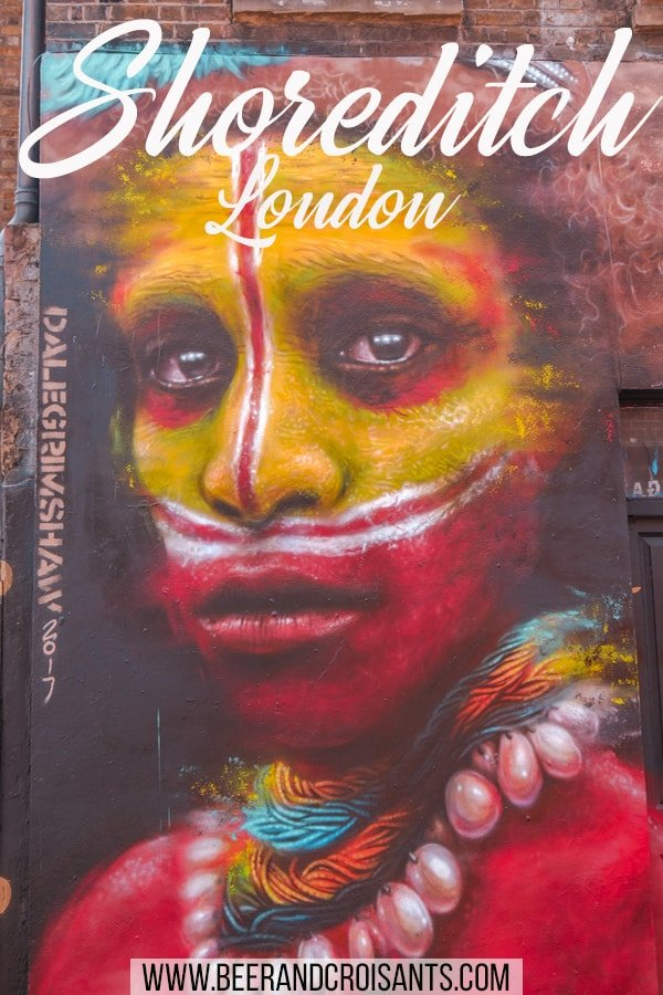 See amazing street art like this in the streets and laneways of Shoreditch. Here's some of the key streets where you can find it.