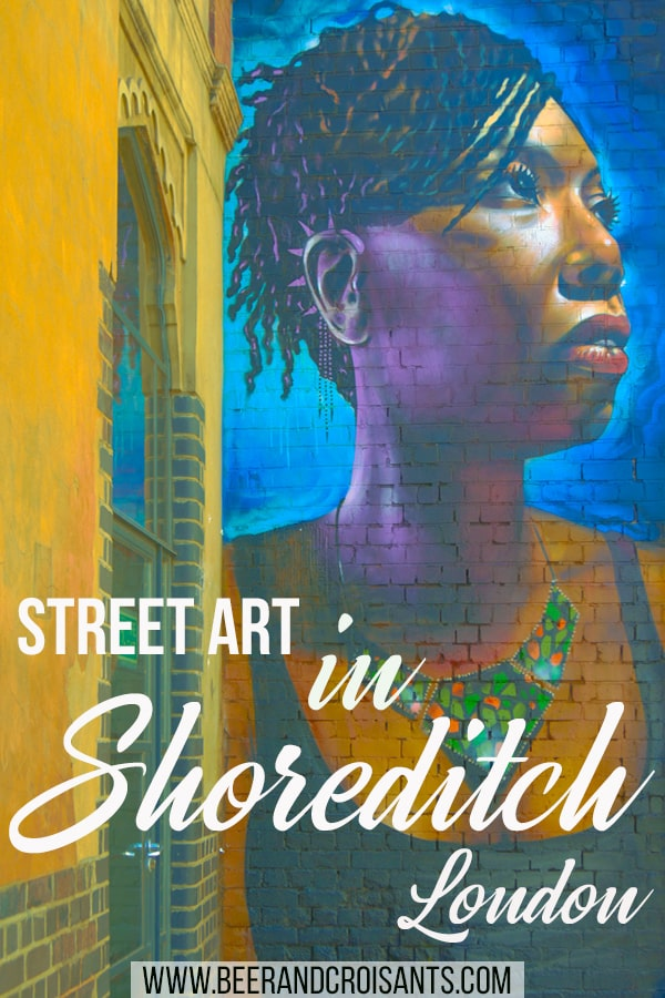 See all the street art at your own pace by doing a self-guided walk through the Shoreditch streets. Read here for some of the best locations.