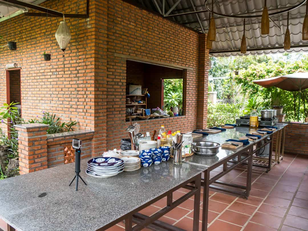 cooking class area