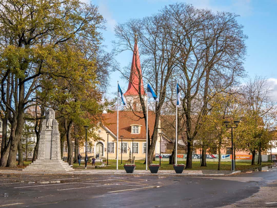 Haapsalu Estonia Town Hall