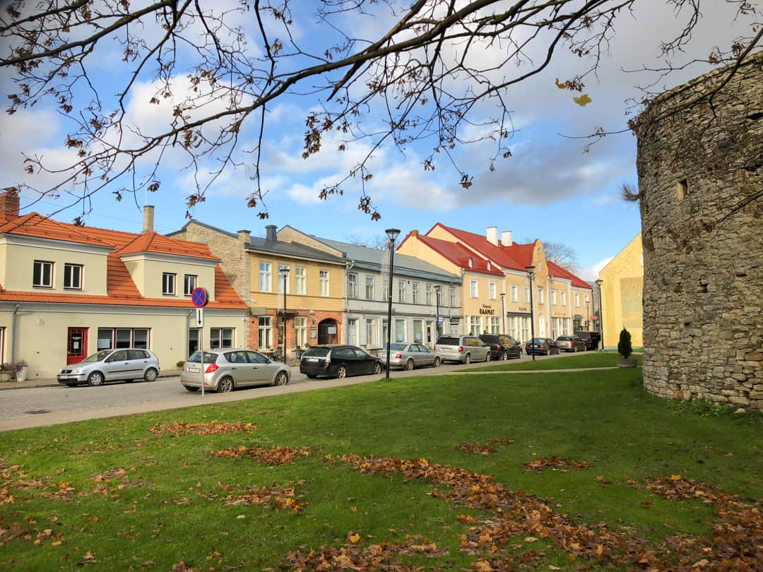 Main street of Haapsalu