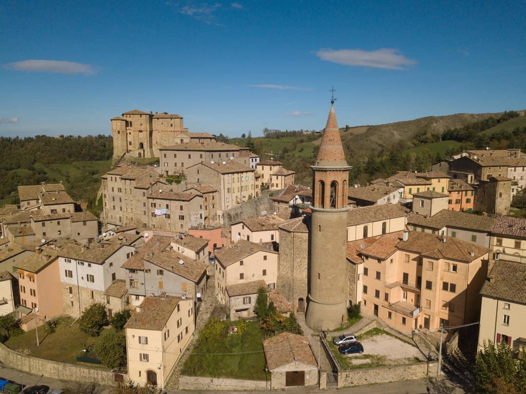 city of sant agata feltria off the beaten path Italy