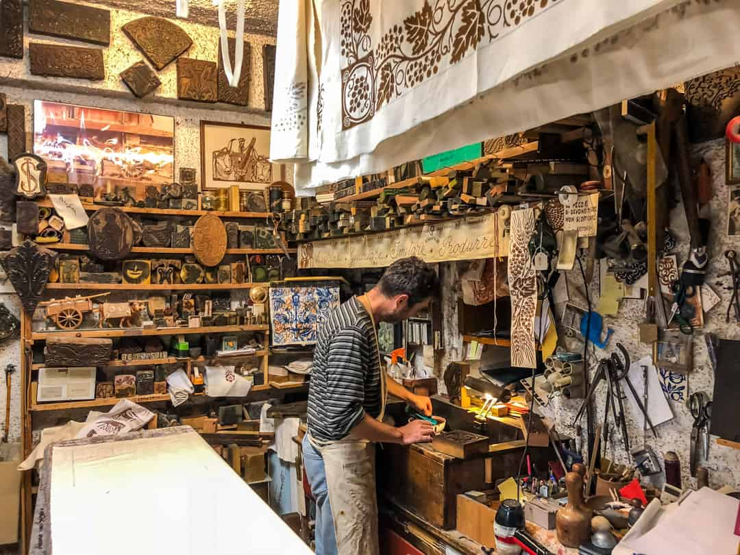 the stamping workshop