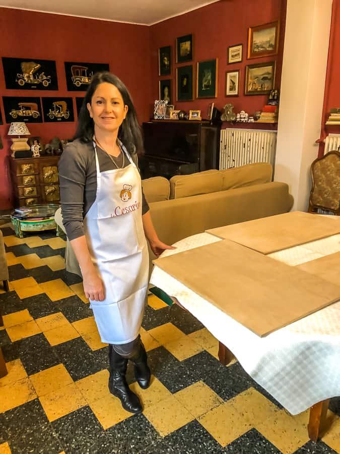 kerri bologna cooking class