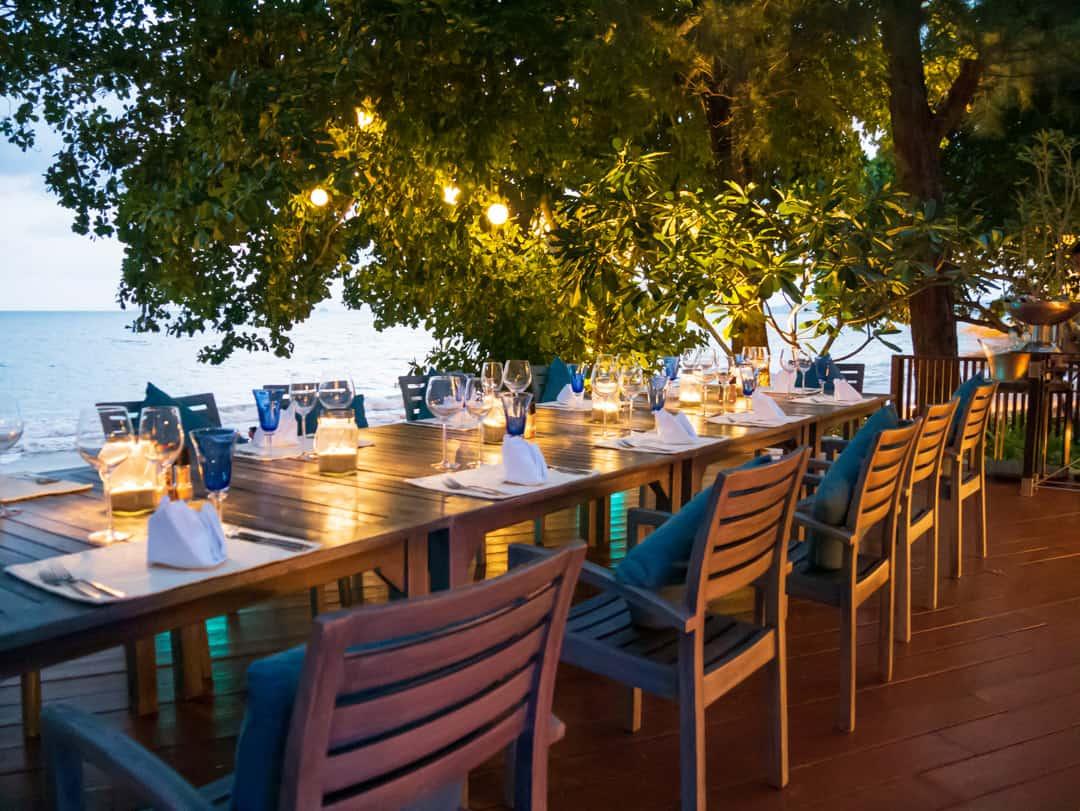 dining at Coast