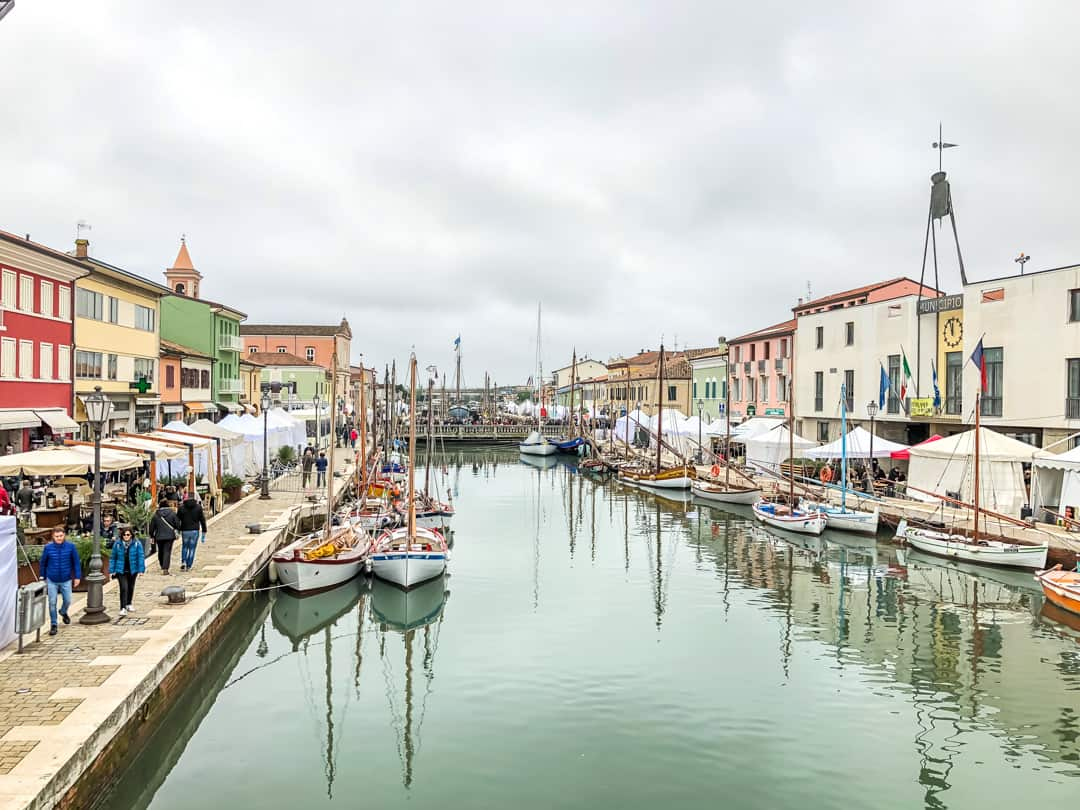 main canal of cesenatico