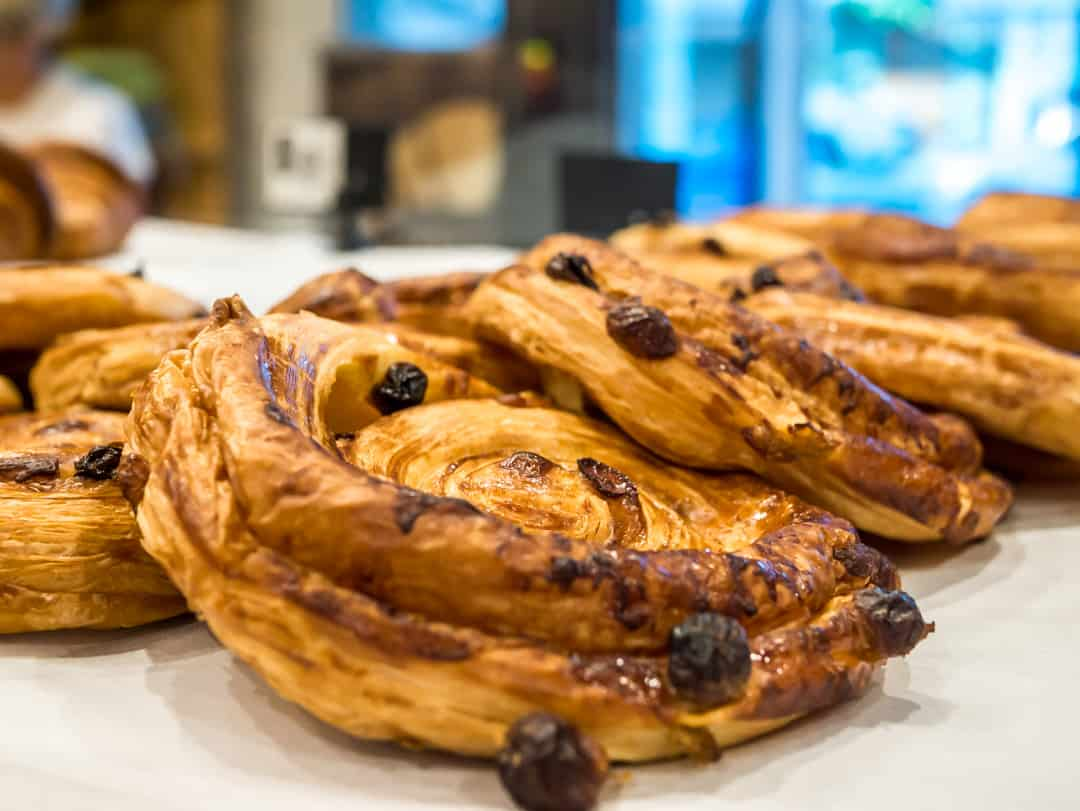 pain aux raisins best French bakery Brisbane