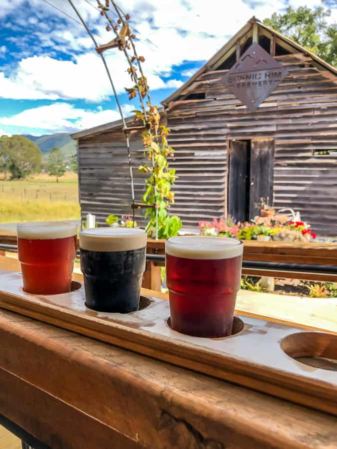 beers at the scenic rim