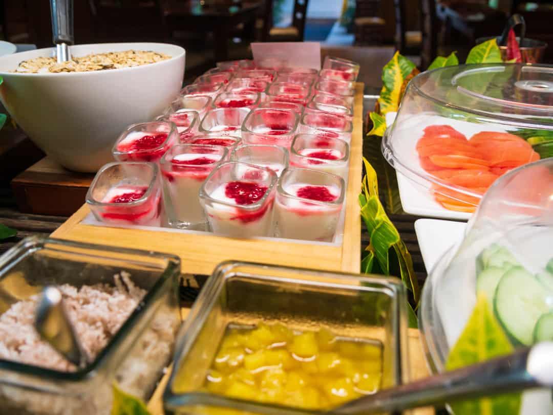 breakfast at vale ni kana outrigger fiji