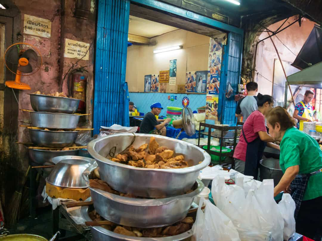 family kitchen in chinatown