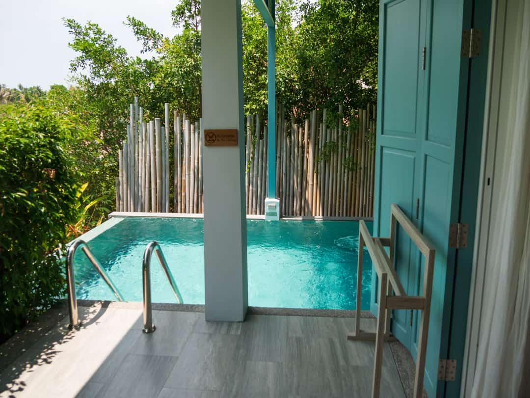 private plunge pool pool villa Cape Kudo Hotel Koh Yao Noi