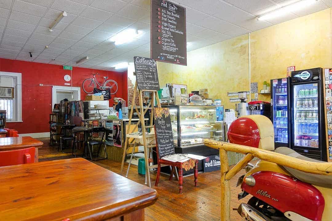 Red Lime Shack social enterprise cafes