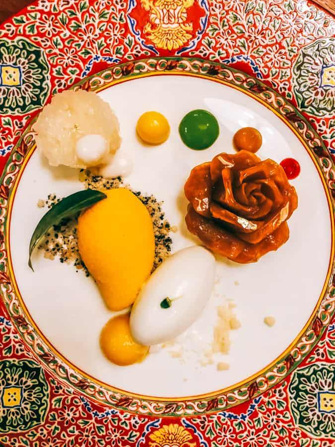Dessert tasting plate Bangkok Thai cuisine