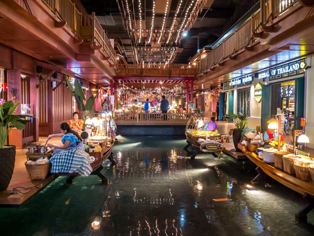 indoor floating market sook siam