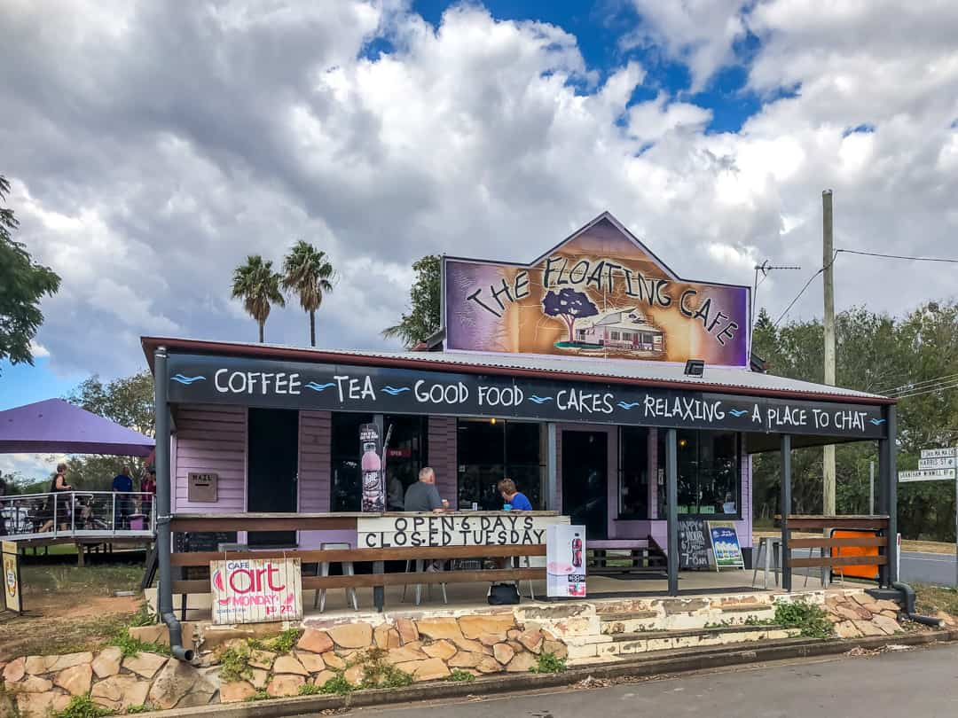 floating cafe best food experiences lockyer valley