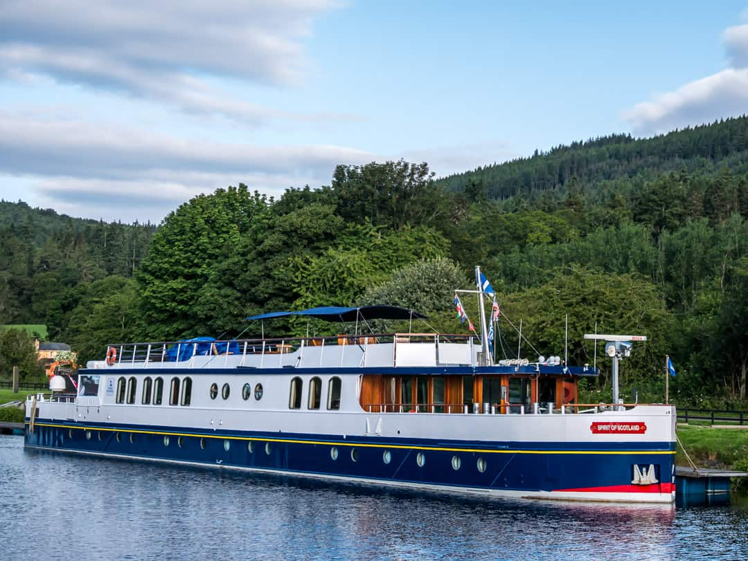 Spirit of Scotland feature barge cruises in scotland