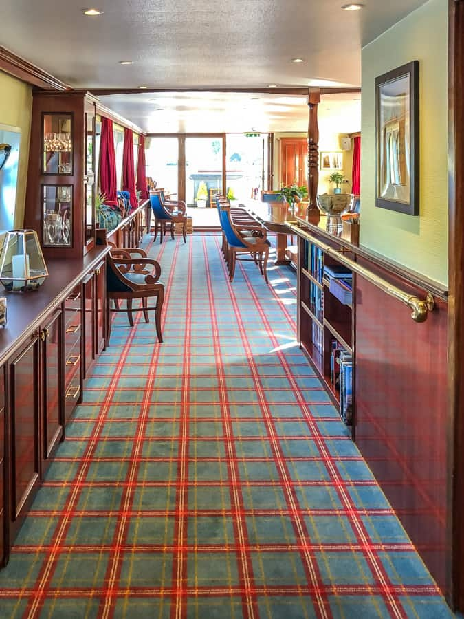 Spirit of Scotland hallway