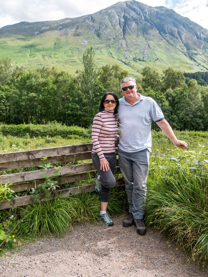Lots of spots to stop and view the Glencoe Valley day trips from Inverness