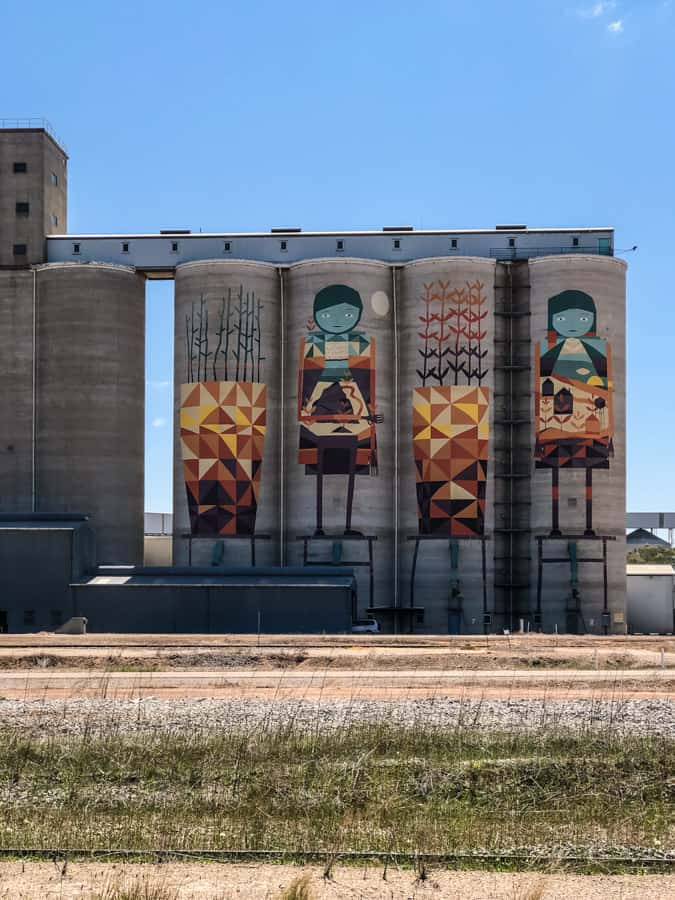 merredin wheat silos