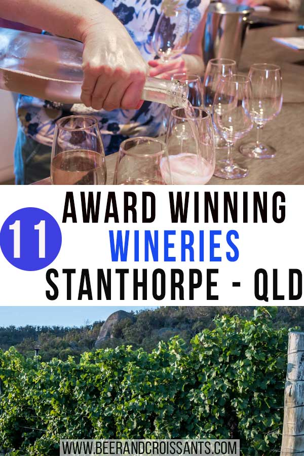 Our guide to some of the best wineries in Stanthorpe, wine tastings and where you can find them.