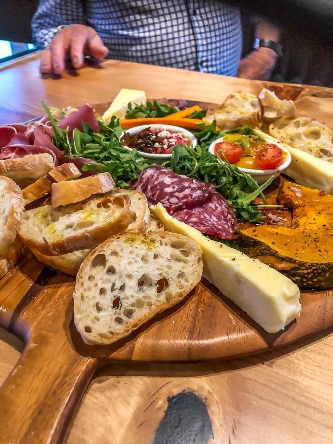 balancing heart vineyard platter
