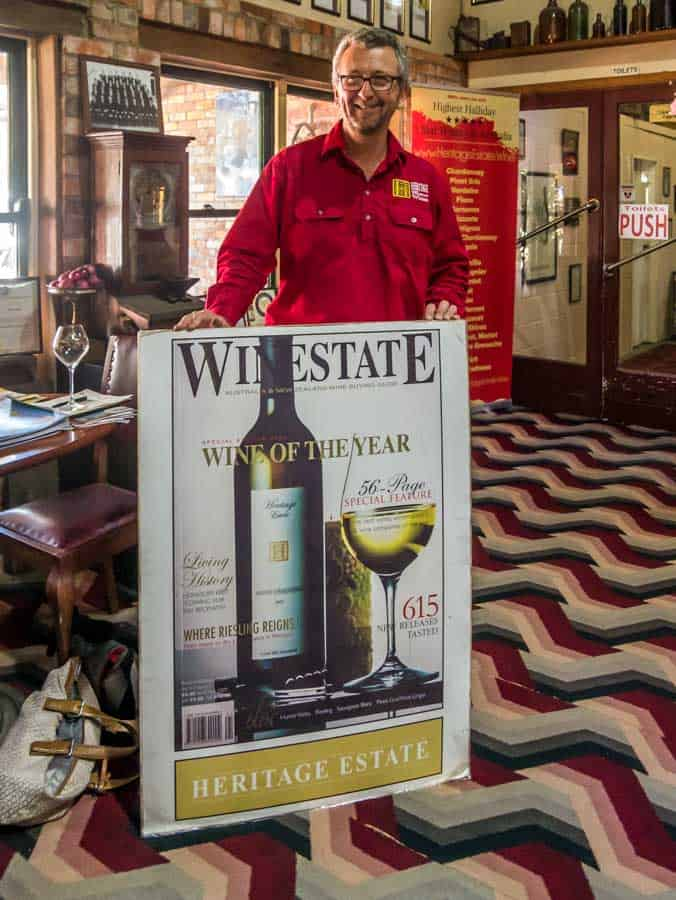heritage wine of the year