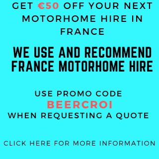 GET €50 OFF YOUR NEXT MOTORHOME HIRE IN FRANCE