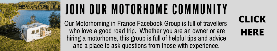 Join our community motorhoming in france on facebook