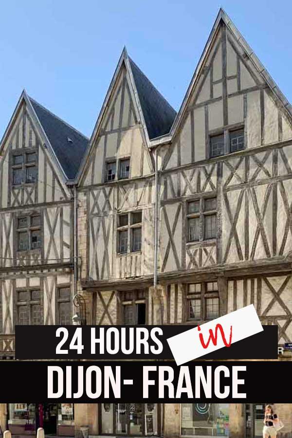 medieval buildings of Dijon