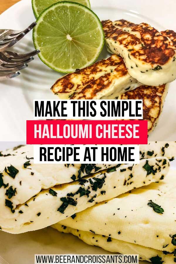 halloumi cheese recipe to make at home