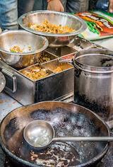New Delhi India street food