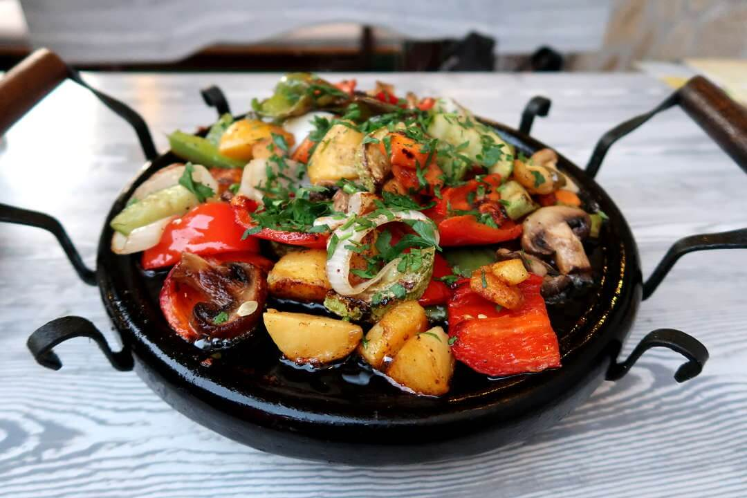 Colorful and healthy Sache  ©Authentic Food Quest Image used with permission