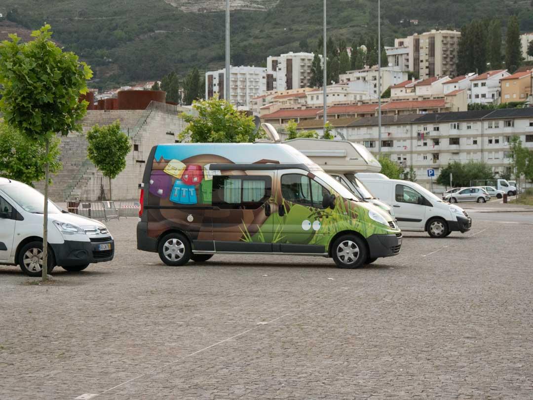campervan parking in lamego portugal