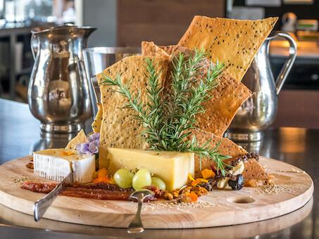 cheese platter karoomba vineyard scenic rim