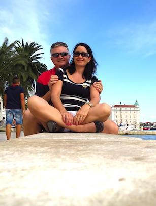 kerri and stirling in split croatia