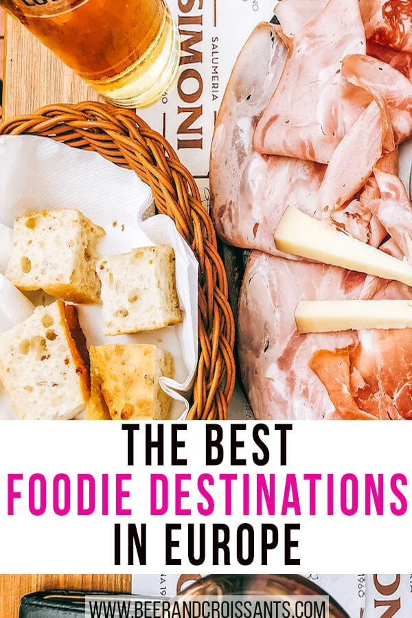 the best foodie destinations in europe