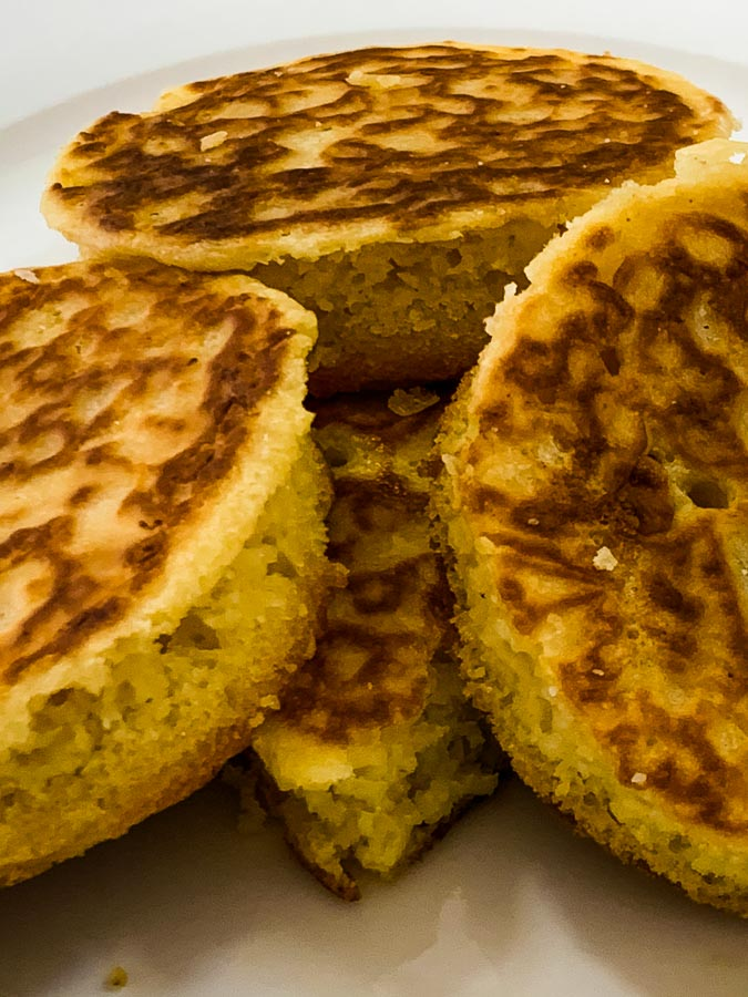 final crumpets for serving