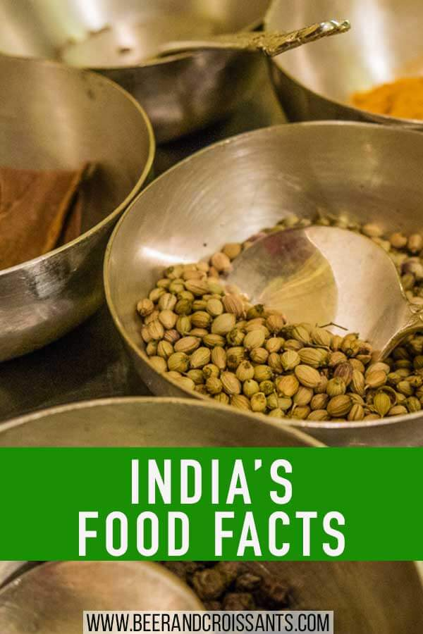 india's food facts