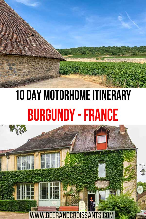 MOTORHOME-ITINERARY-BURGUNDY-FRANCE