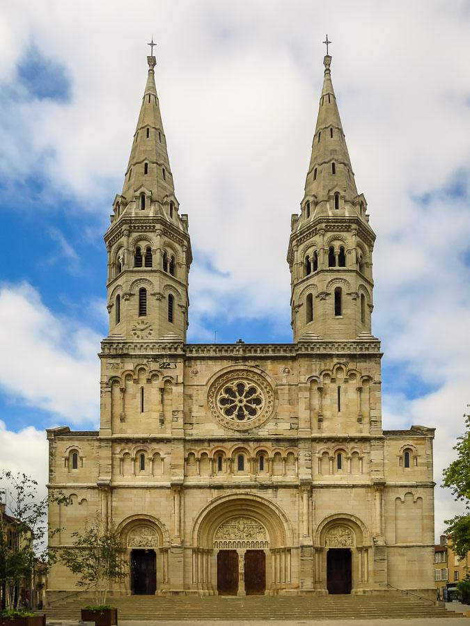 Macon France Church Saint Pierre burgundy france motorhome itinerary
