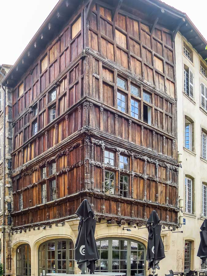 Macon France wooden house best france road trips